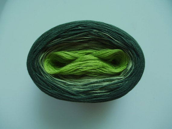TURF Color Changing Cotton yarn  100 gr/480 yards  Fingering Weight