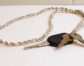 Macrame Lanyard / Key Holder / Eyeglass Holder Natural