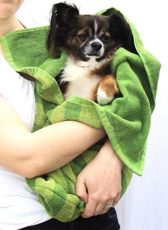 Dog Towel-Bath Towel Pouch-