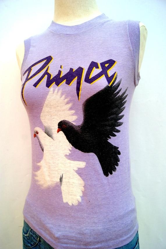 Vintage Prince T-shirt Purple Rain Original by VacationVintage