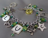 HALF OFF! Luck Be A Lady Charm Bracelet!