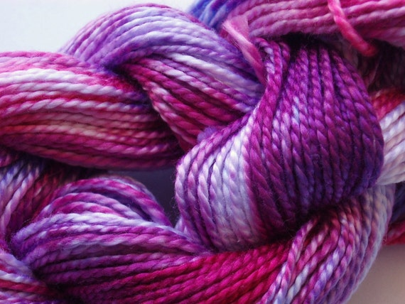 Snow Bunny Hand Dyed Perle Cotton Size 5