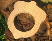 Wooden Acorn Teether