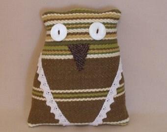 Striped Owl Doll