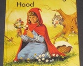 Little Red Riding Hood LARGE TYPE HC Brimax book 1985