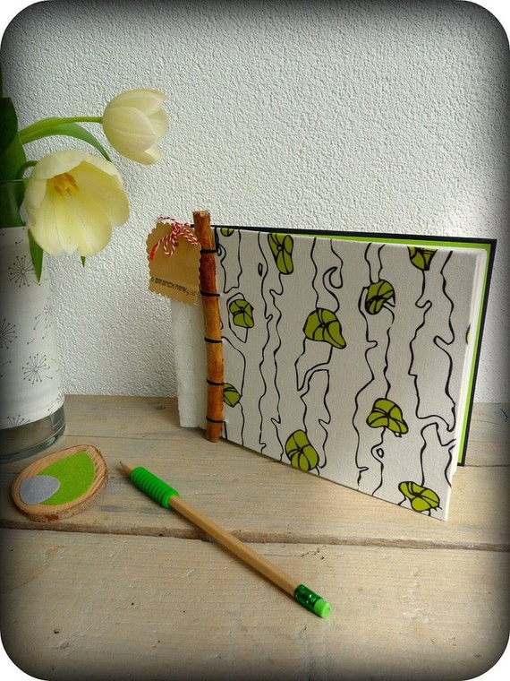 Handmade journal Branch