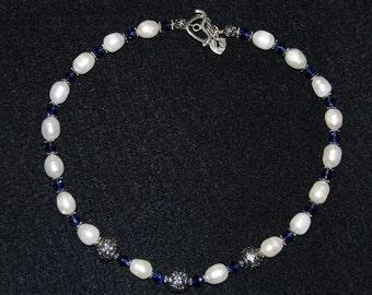 Saphire Queen Necklace 18 in.