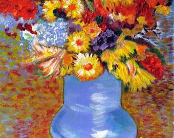 Vincent's Vase With Flowers