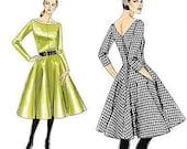 NANCY dress vintage 50s style custom made all size