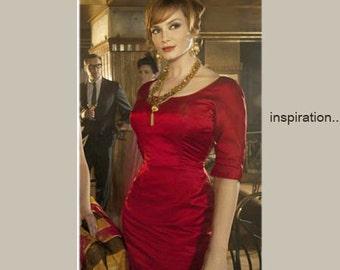 Joanna custom made pencil dress dress all sizes