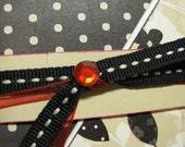 Silhouette Criss-Cross Handmade Card