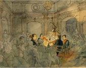 String Quartet by Candlelight (print)