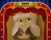 What a HOOT Owl puppet