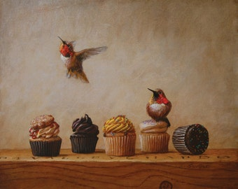 Hummingbirds and Cupcakes