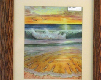 Morning's Glory Giclee Print - Matted and Framed