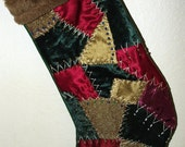 Victorian Christmas stocking -The Diana