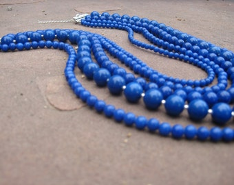 Nautical Blue, necklace