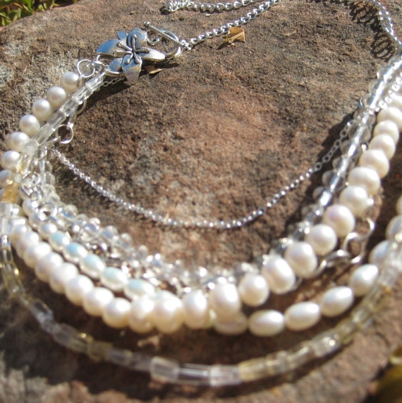 Charleston, necklace for the bride