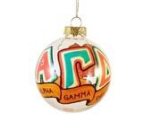 Very Small Alpha Gamma Delta Holiday Ornament