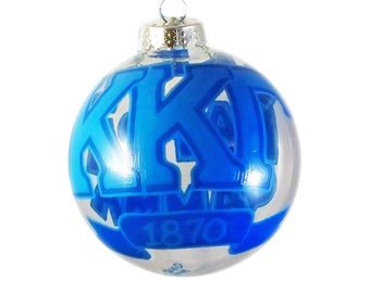 Handpainted Kappa Kappa Gamma Sorority Holiday Ornament