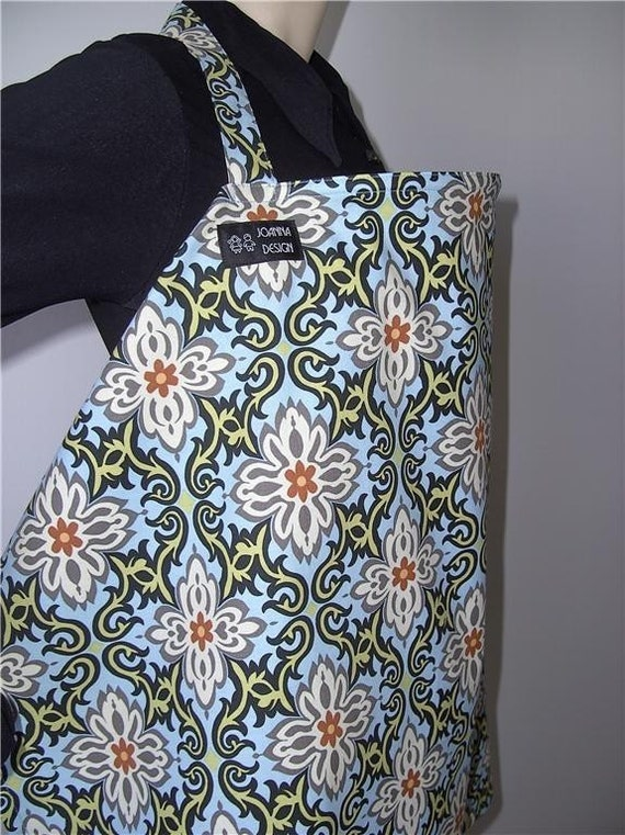 FREE Shipping / Nursing Cover by JOANNA DESIGN  (Sky / Temple Garland )