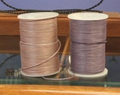 new color - 1.5mm metallic blush pink leather - 10 meters