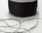 3 yards Rustic Jute Twine in Black