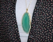 Jade Agate Pendant