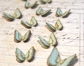 Butterflies Fluttering Blue Handmade Embellishments