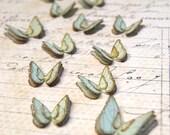 Butterflies Fluttering (Large) Blue Handmade Embellishments