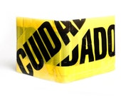 Cuidado Caution Tape Wallet