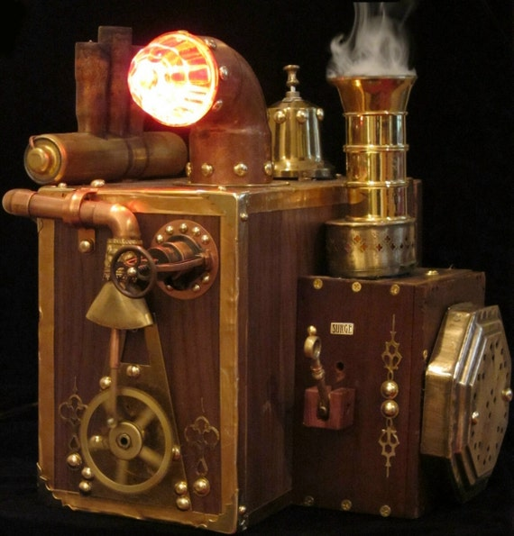 Will Rockwell's Steam Powered Computer Hard Drive