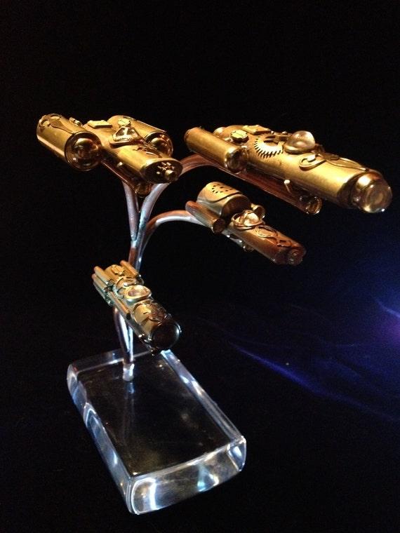 The Steampunk Starship Fleet