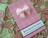 ONE DOLLAR CLIP Light Pink Mini Bow Baby Snap Clip No Slip