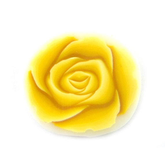 Polymer Clay Cane Millefior Yellow Rose