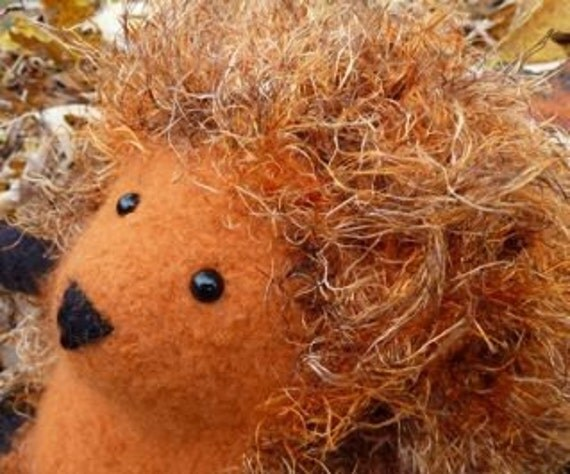 "Plush Hedgehog ""Candice Corne"""