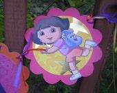 Dora Happy Birthday Banner
