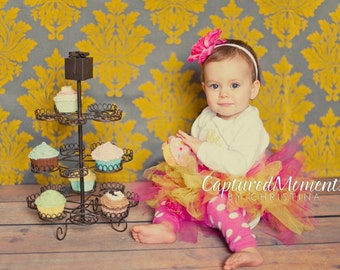 Baby girl photo prop cupcake fake cupcake photography prop shoot ,first birthday party centerpieces decoration pink icing