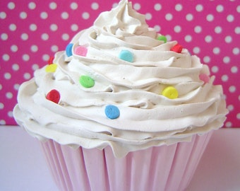 Fake Cupcake  for cake pedestal stand ,cake stand tier, cake stand, wedding cake stand, cake stand plate,cake stand wedding whimsical gift
