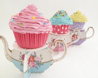 GIRL ROOM DECORATION cupcake  fake cupcake Nursing room decoration pink icing super Realistic look great prop for first birthday pictures