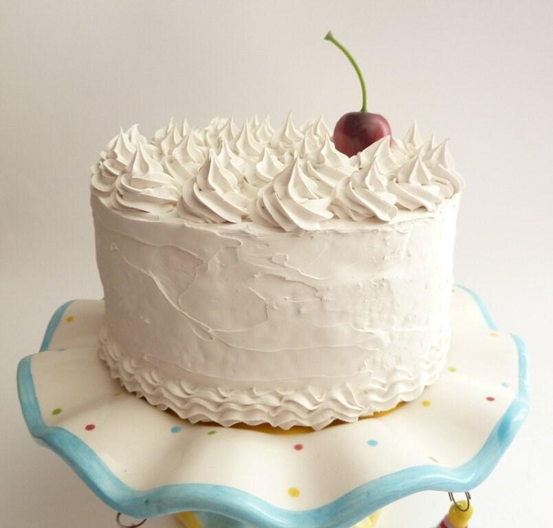 FAKE CAKE For Cake Stand Pedestal Wedding