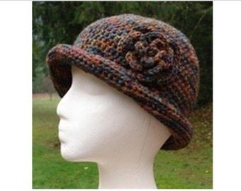 River Twist Cloche - PA-121 - Crochet Pattern PDF