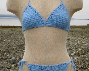 Crochet Pattern PDF - Basic String Bikini - Bathing Suit Pattern - PR-101