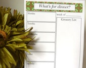 Meal Planner by Yours Truly Designs