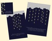 Starlight Printable Invitation