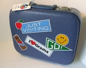 Vintage Children's Suitcase with Key, Black Friday Etsy, Cyber Monday Etsy