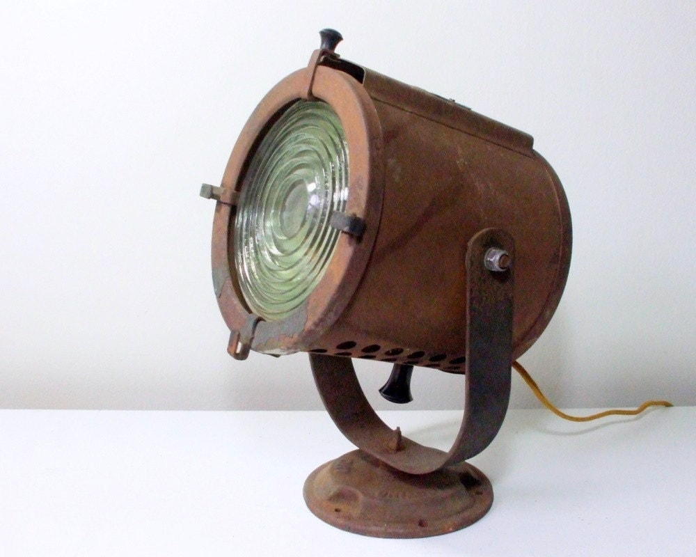 Vintage Stage Spotlight Fresnel Dramaspot Theater Lamp