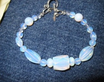 Hand crafted Opalitebracelet WITH FREE SHIPPING