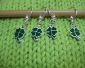 Four Leaf Clover Stitch Markers