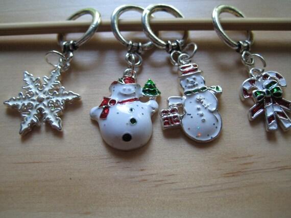 Christmas Stitch Markers